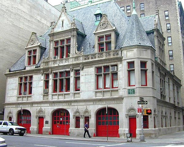 Jonathan Grave's hometown of Fisherman's Cove is a fictional place, but this is what his firehouse home and office look like in my mind. The real location is a firehouse in lower Manhattan.