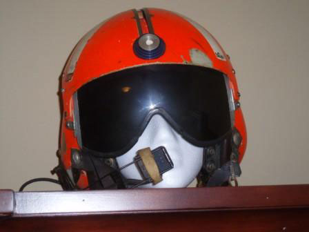 My dad's old flight helmet