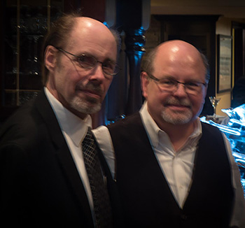 Jeffery Deaver is not only an outstanding writer, but I'm privileged to call him a dear friend. He MC'd the Gilstrap Trivia Contest during the party.